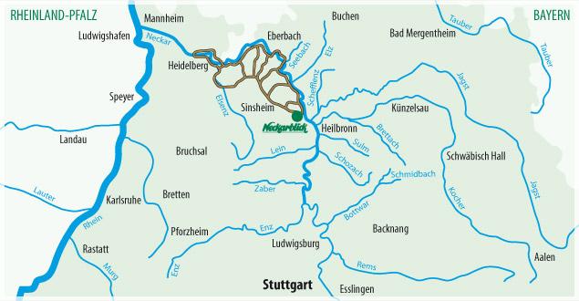Fahrradtour Bad Wimpfen Radblume 1