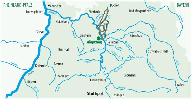 Fahrradtour Bad Wimpfen Radblume 3