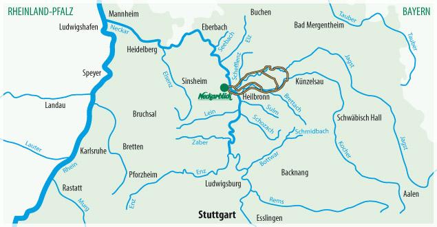 Fahrradtour Bad Wimpfen Radblume 4