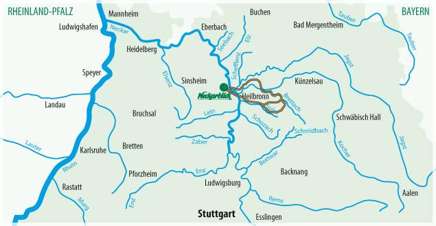 Fahrradtour Bad Wimpfen Radblume 5