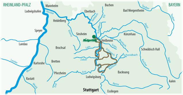 Fahrradtour Bad Wimpfen Radblume 6