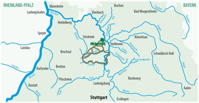 Fahrradtour Bad Wimpfen Radblume 7