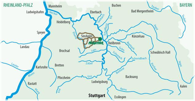 Fahrradtour Bad Wimpfen Radblume 8